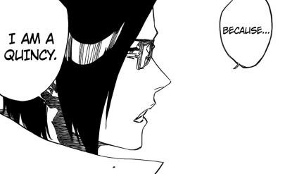 Uryu tells Ichigo he's a Quincy
