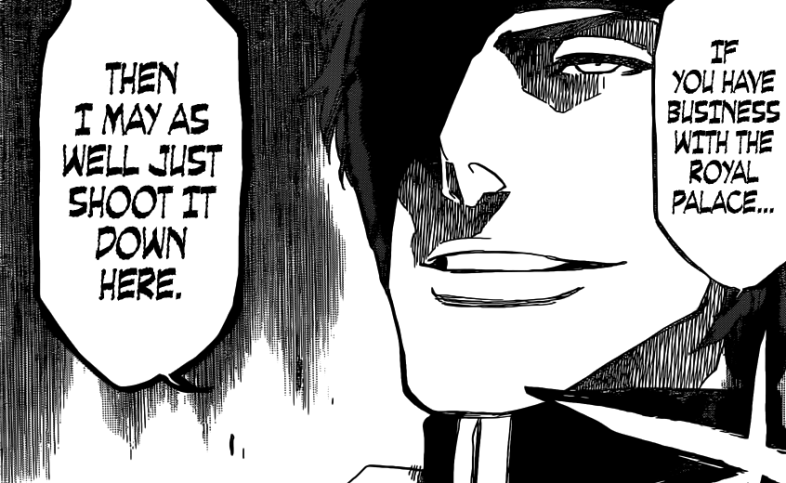 Aizen to go to Soul Palace