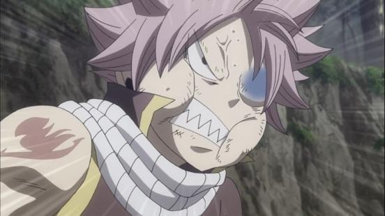Angry Natsu Face