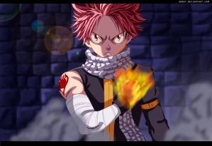 Fairy Tail 428 Natsu by Uendy