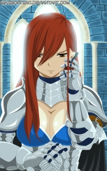 Fairy Tail 429 Code Red Erza by maxibostero