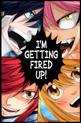 Fairy Tail 430 Fired Up by ichigovizard96