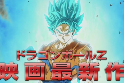 Blue-Haired Goku in Dragon Ball Z: Resurrection F Film Video