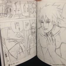 Kakashi's Manga Face