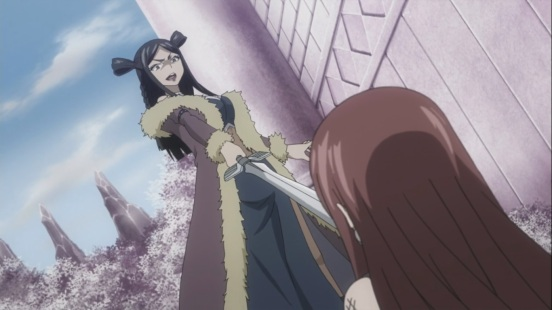 Minerva's advantage over Erza
