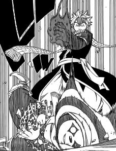 Natsu destroys Abel