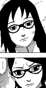Sarada looks like Karin