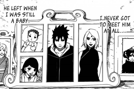 Sasuke Sakura Sarada family portrait