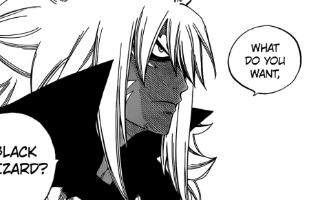 Acnologia talks to Zeref