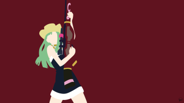 Bisca Connell Fairy Tail Minimalistic Wallpaper by greenmapple17
