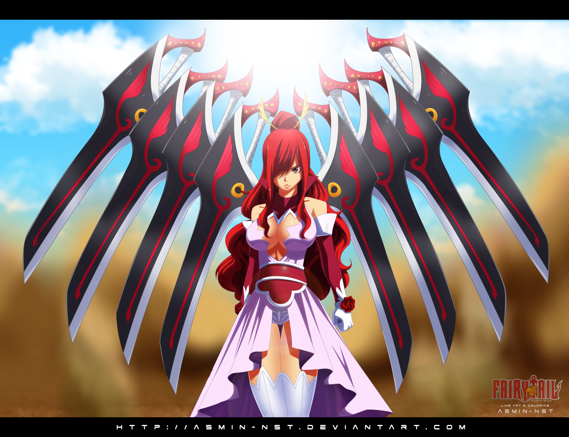 Fairy Tail 431 Erza Form By Asmin-nst