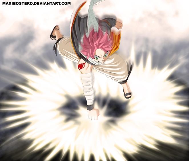 Fairy Tail 434 Natsu by maxibostero