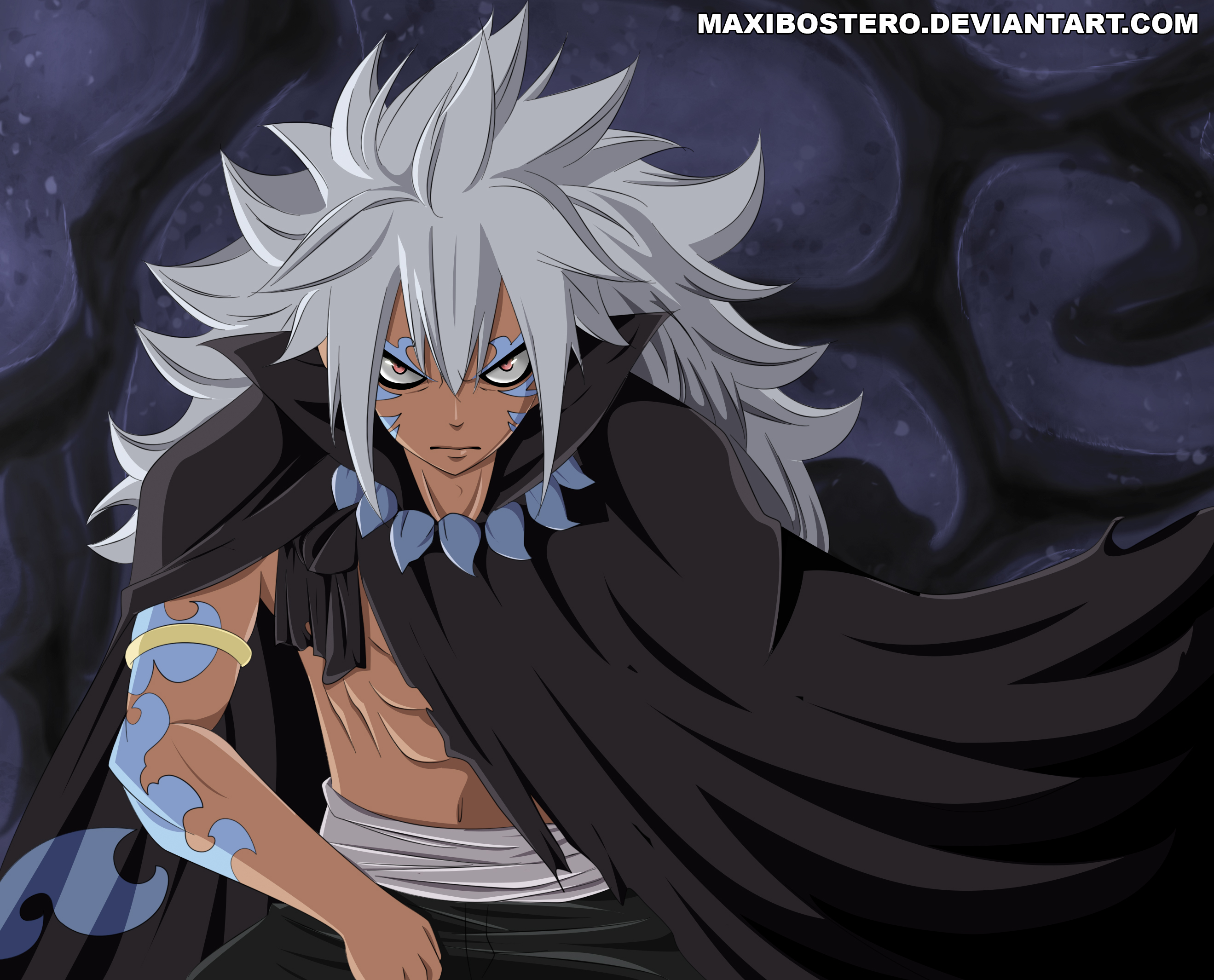 Fairy Tail 436 Acnologia Human Form by maxibostero | Daily ...