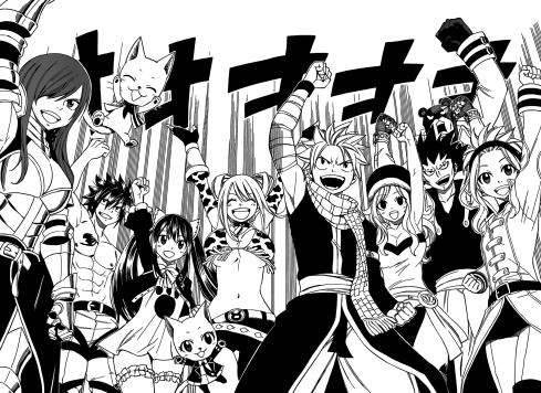 Fairy Tail cheers