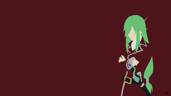 Freed Justice Fairy Tail Minimalistic Wallpaper by greenmapple17