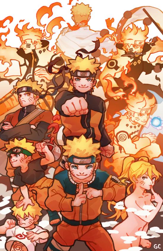 From Zero to Hero Naruto Uzumaki by genicecream
