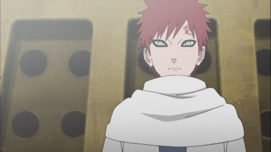Gaara congratulates everyone