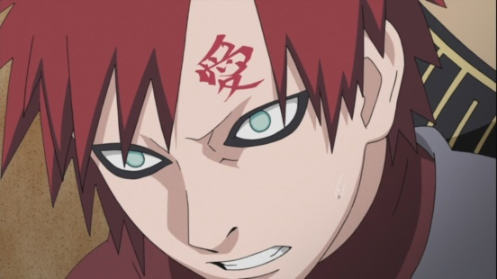 Gaara gets attacked