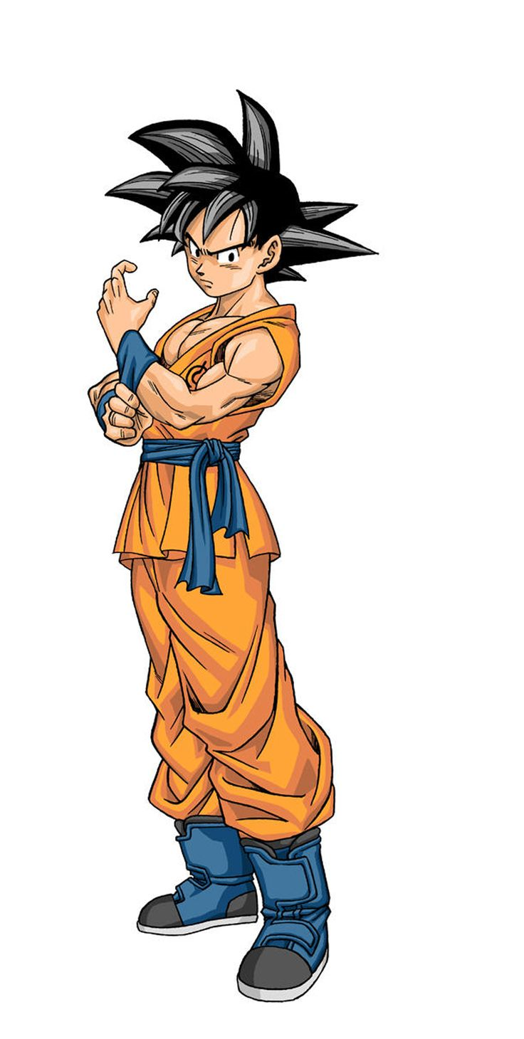 Goku Illustration from Dragon Ball Super