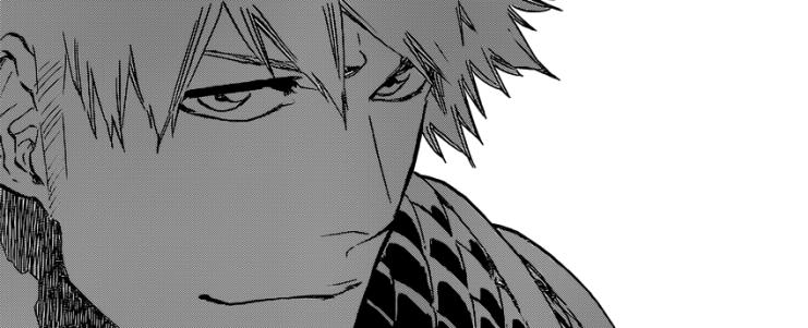 Ichigo smiles