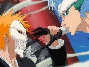 Ichigo vs Grimmjow Bleach