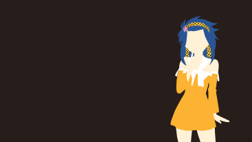 Levy McGarden Fairy Tail Minimalistic Wallpaper by greenmapple17