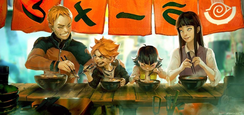 Naruto Boruto Himawari Hinata Ramen Stand by benlo