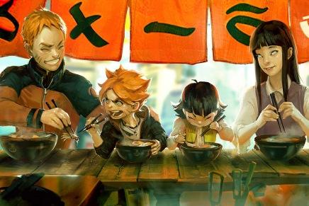 Let's Get Ramen – Naruto, Hinata, Boruto &Himawari
