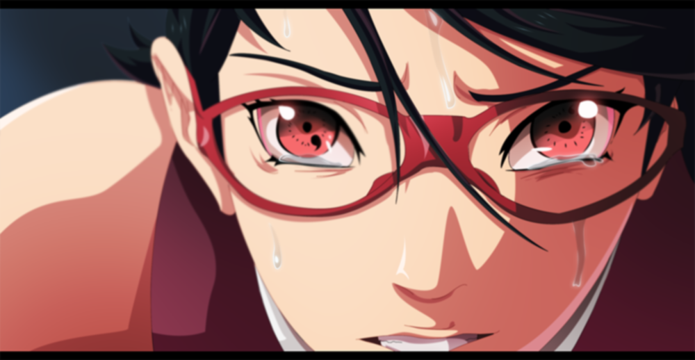 Does Sarada's Glasses Mean Her Shaingan Is Weaker?