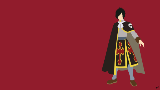Rogue Cheney Fairy Tail Minimalistic Wallpaper by greenmapple17