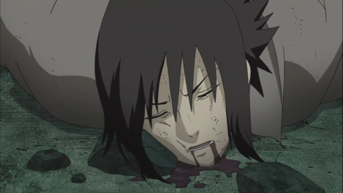 "Missão - Ren  ""A última pedra"" Sasuke-dead"