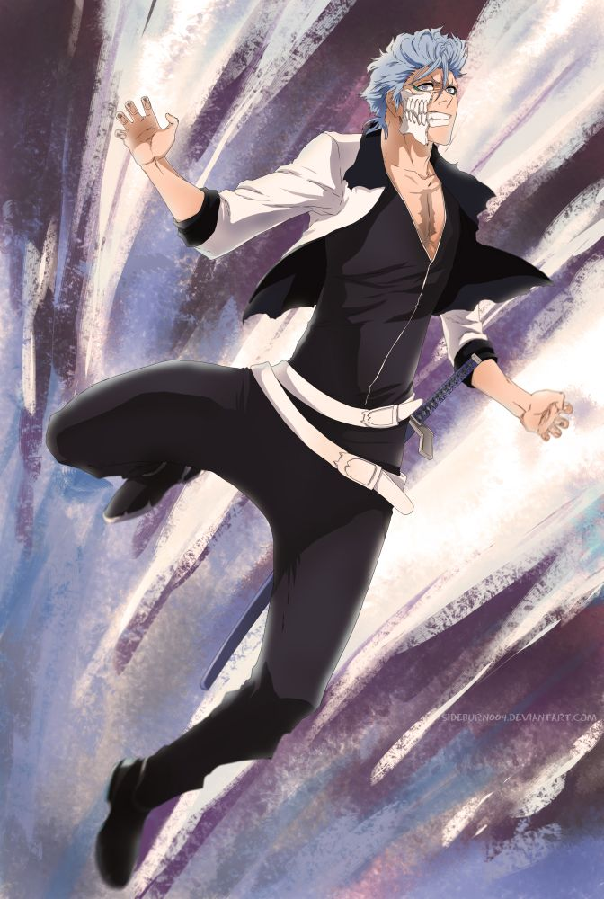 Bleach 629 Grimmjow attacks by sideburn004