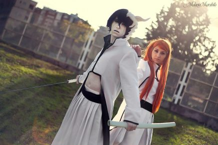 Cosplay: Ulquiorra and Orihime