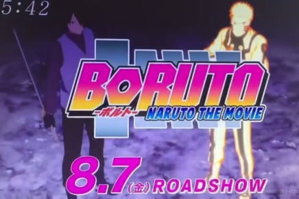 Boruto: Naruto the Movie Advert Shows Boruto's Chidori