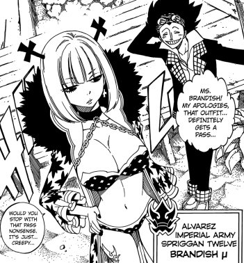 Brandish U Spriggan Twelve Alvarez Imperial Army