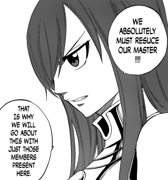 Erza to Save Makarov