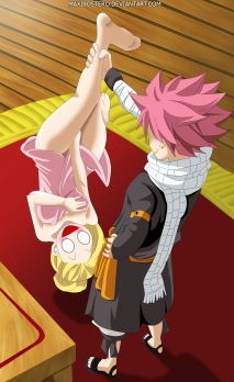 Fairy Tail 438 Natsu Lucy by maxibostero