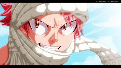 Fairy Tail 441 Natsu Ninja by Uendy