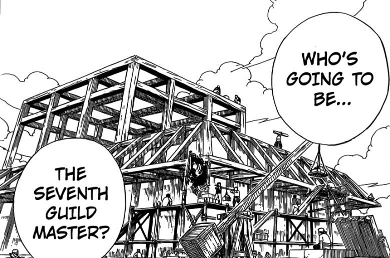Fairy Tail Guild Hall builds up