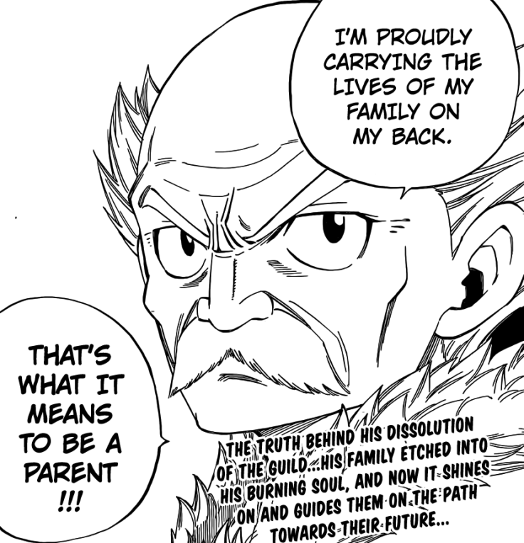 Makarov is Fairy Tail Parent