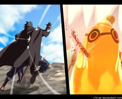 Naruto Gaiden 6 Naruto and Sasuke by x7Rust