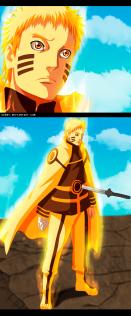 Naruto Gaiden 6 Naruto Stabbed by Uendy