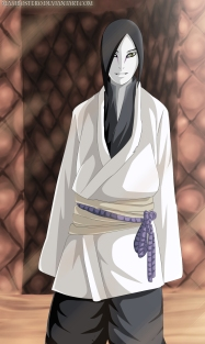 Naruto Gaiden 7 Orochimaru New Form by Maxibostero
