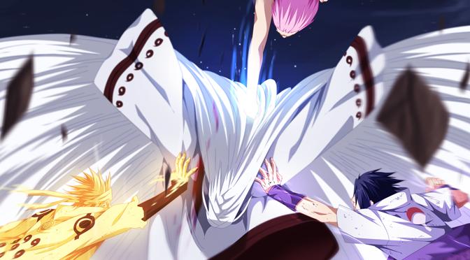 top 5 naruto battles daily anime art