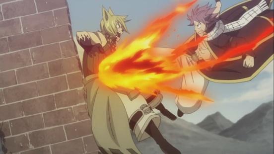 Natsu's Kick on Jackal