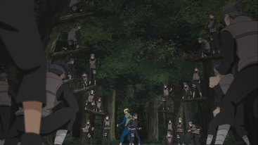 Obito and Minato surrounded