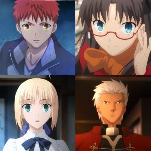 Shirou Rin Archer Saber
