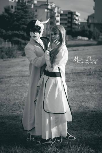 Ulquiorra Orihime Cosplay Bleach by Asteria91