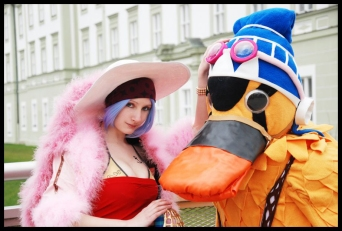 Vivi and Carue Cosplay by jibril-cosplay
