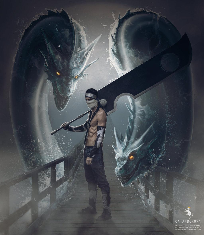 Water Dragon Bullet Technique – Zabuza Momochi